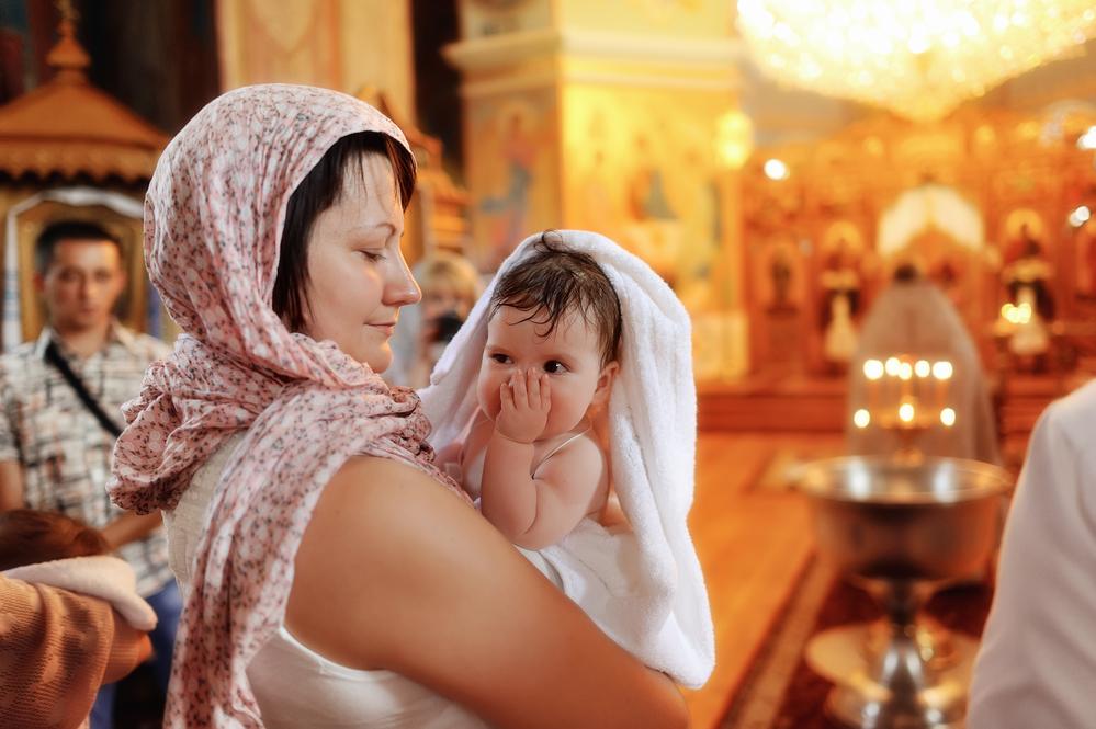 приметы крещение ребенка